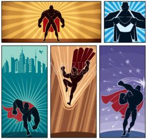 Superhero Banners 2 - Martin Malchev