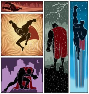 Superhero Banners 3 - Martin Malchev