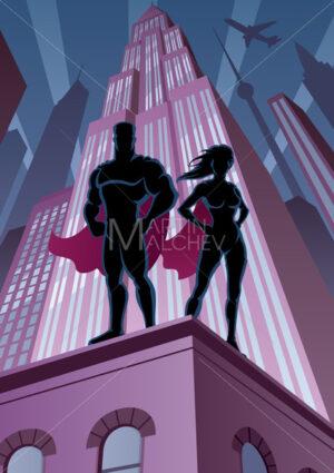 Superhero Couple 5 - Martin Malchev