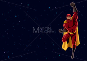 Superhero Flying 2 Space - Martin Malchev