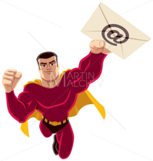 Superhero Flying E-mail - Martin Malchev