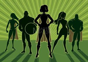 Superhero Team 3 - Martin Malchev