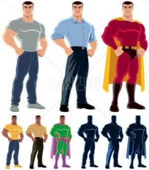 Superhero Transformation - Martin Malchev