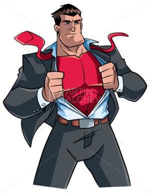 Superhero Under Cover Suit - Martin Malchev