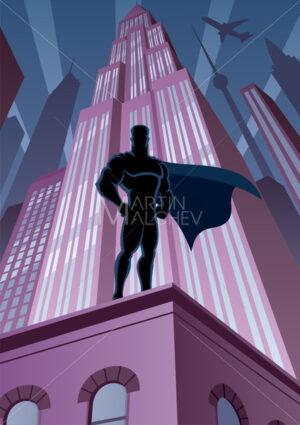 Superhero in City - Martin Malchev