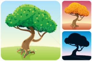 Tree Square Landscapes - Martin Malchev