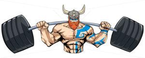 Viking Gym Mascot - Martin Malchev