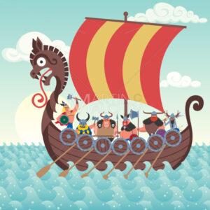 Viking Ship - Martin Malchev