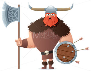 Viking on White - Martin Malchev