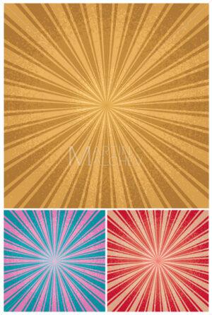 Vintage Radial Background - Martin Malchev