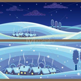 Winter Landscapes - Martin Malchev