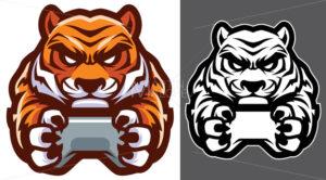 Tiger Gamer Mascot - Martin Malchev
