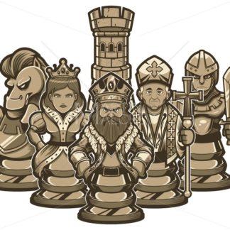 Chess Team White - Martin Malchev