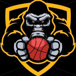Gorilla Basketball Mascot - Martin Malchev
