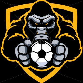 Gorilla Football Soccer Mascot - Martin Malchev
