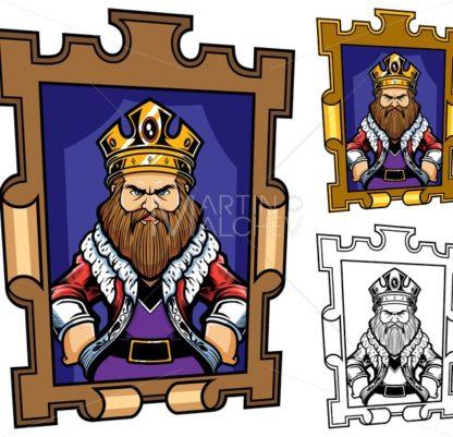 King Cartoon Portrait - Martin Malchev