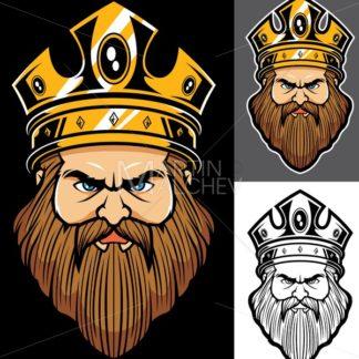 King Face Mascot - Martin Malchev