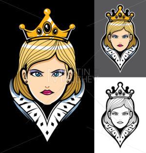 Queen Face Mascot - Martin Malchev