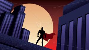 Superhero City Night - Martin Malchev