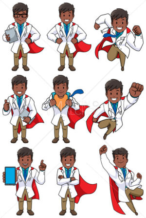 Super Doc Indian - Clip-Art and Video