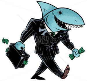 Business Shark Dark Suit - Martin Malchev
