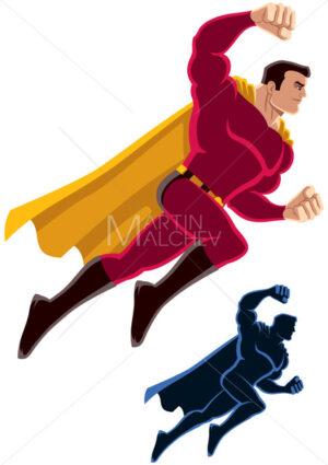 Superhero Flying Attack - Martin Malchev