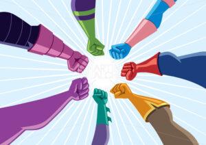 Superhero Team Assemble - Martin Malchev