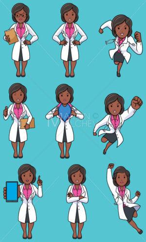 Doctor Indian Female Set - Martin Malchev