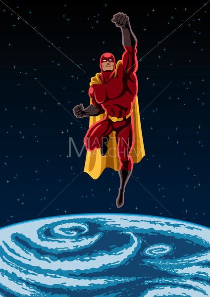 Earth and Superhero - Martin Malchev