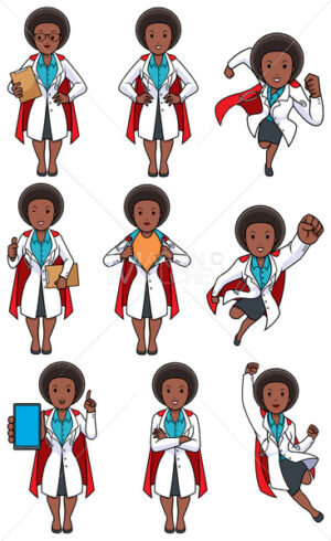 Super Doc African Female Set - Martin Malchev