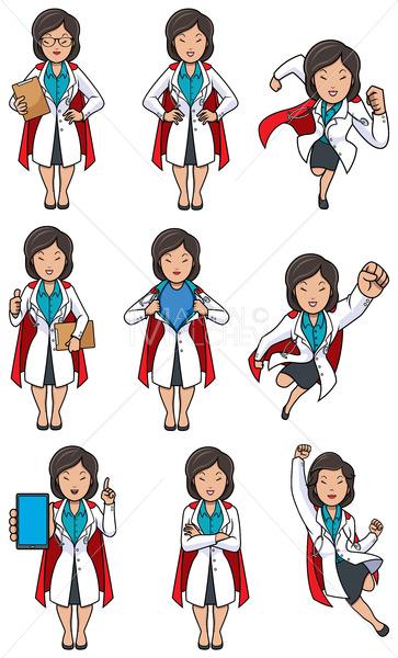 Super Doc Asian Female Set - Martin Malchev