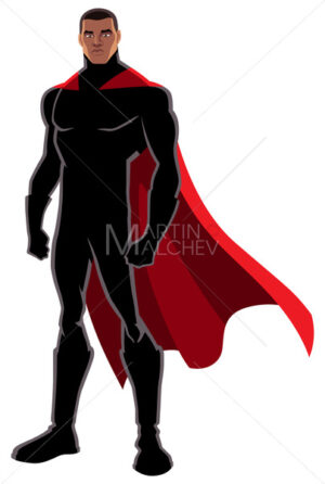 Superhero Black on White - Martin Malchev