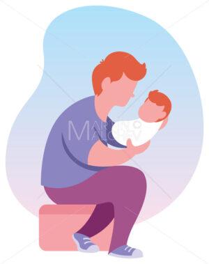 Dad and Baby - Martin Malchev