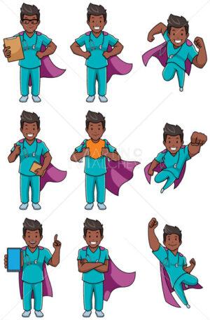 Super Nurse Indian Male Set - Martin Malchev