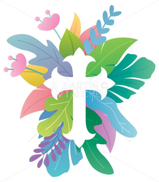 Abstract Christian Cross 2 - Martin Malchev