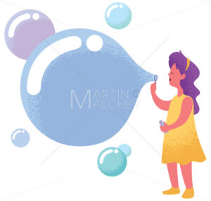 Blowing Bubbles with Copyspace - Martin Malchev
