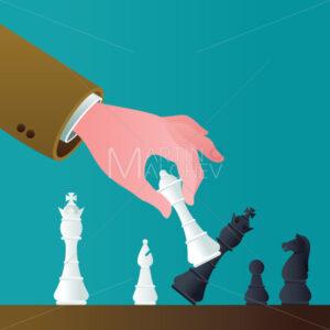 Checkmate Concept Illustration - Martin Malchev