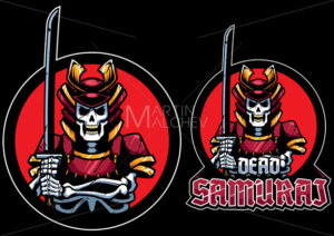 Dead Samurai Mascot - Martin Malchev
