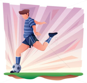 Football Player Symbol - Martin Malchev