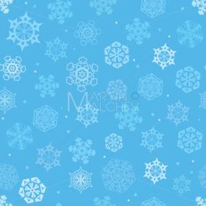 Snowflakes Seamless Pattern - Martin Malchev
