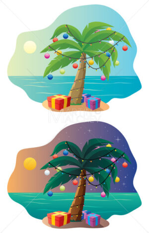 Tropical Christmas Tree - Martin Malchev