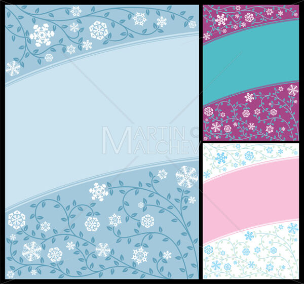 Abstract Winter Background - Martin Malchev