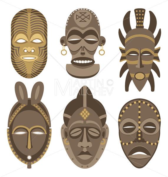 African Masks - Martin Malchev
