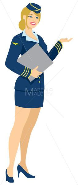 Air Hostess - Martin Malchev