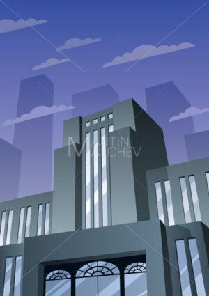 Art Deco Building 2 - Martin Malchev
