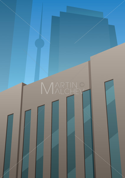 Art Deco Building - Martin Malchev