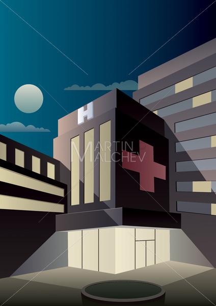Art Deco Hospital - Martin Malchev