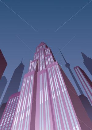 Art Deco Tower 2 - Martin Malchev