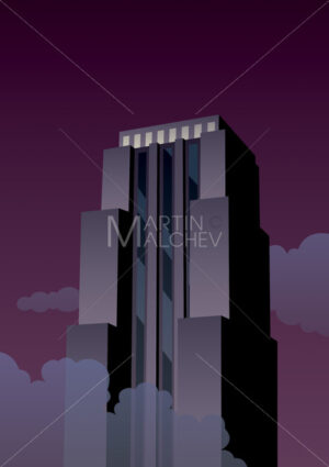 Art Deco Tower - Martin Malchev