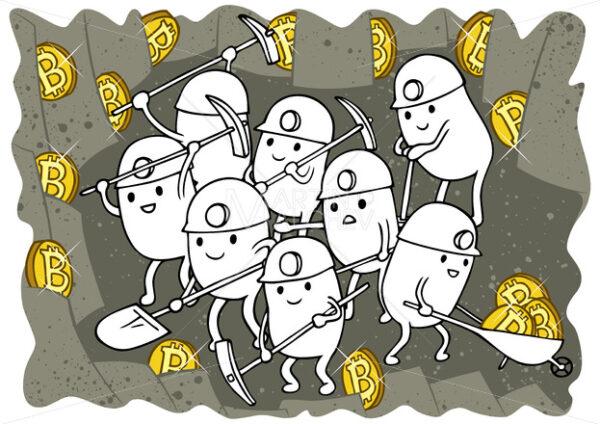 Bitcoin Mining Doodle - Martin Malchev